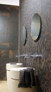 Łazienka, modne płytki ceramiczne, targi Cevisama 2012