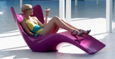 Leżak Surf marki Vondom