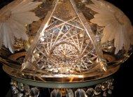 kryształowa lampa